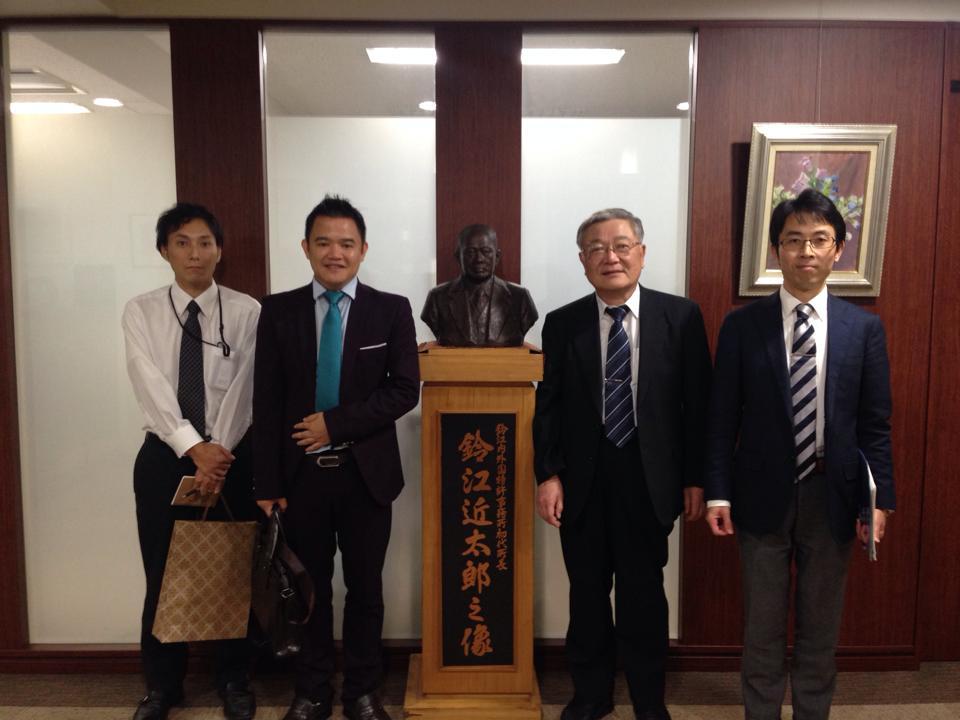 Luật sư SBLAW thăm và làm việc tại công ty sở hữu trí tuệ Nhật Bản