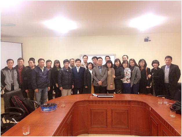 Luật sư Nguyễn Thanh Hà có buổi thuyết trình tại Câu lạc bộ luật sư Việt Nam