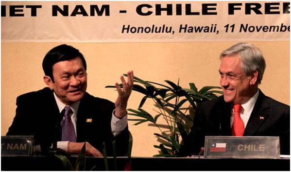Hiệp định thương mại tự do Việt Nam – Chi Lê
