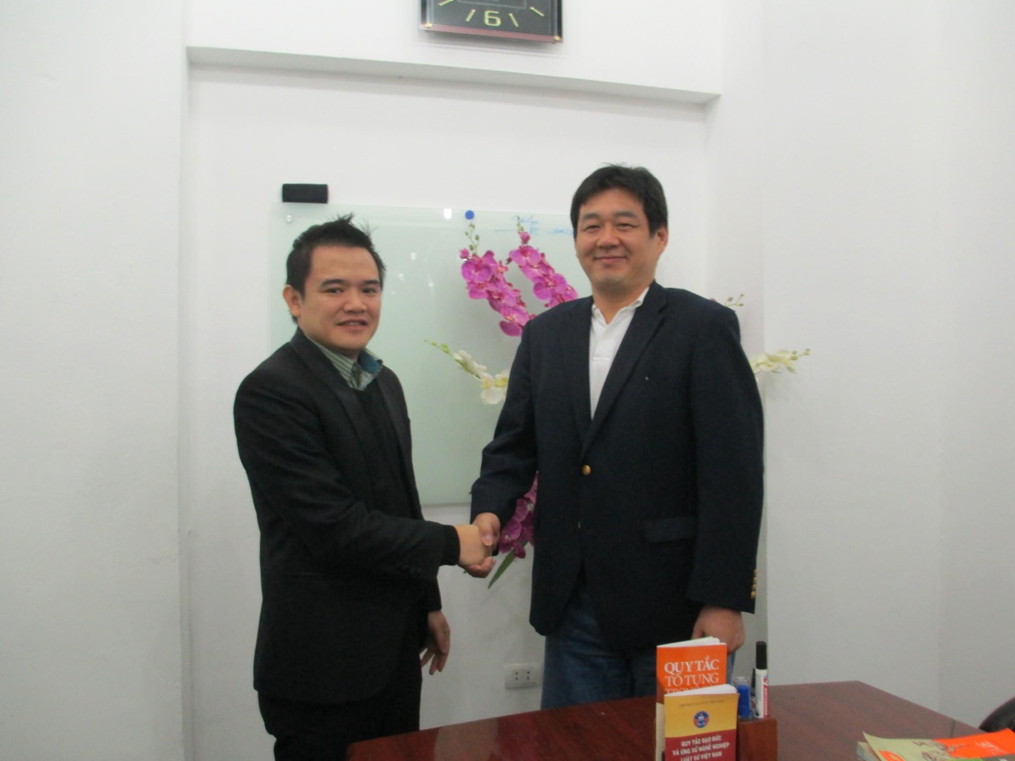 Họp với Ngài Shingo Takezawa