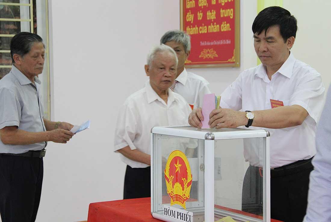 Bảo đảm quyền bỏ phiếu của công dân