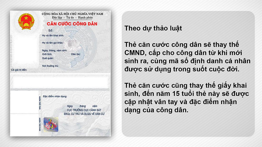Những quy định của pháp luật xung quanh việc cấp, đổi thẻ căn cước công dân