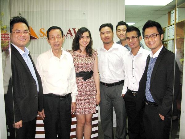 Luật sư Nguyễn Đăng Trừng, chủ nhiệm đoàn LS HCM thăm SB Law