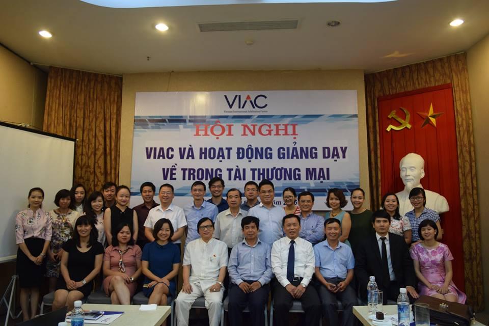 Luật sư Nguyễn Thanh Hà tham gia hội nghị VIAC và Hoạt động giảng dạy về trọng tài thương mại