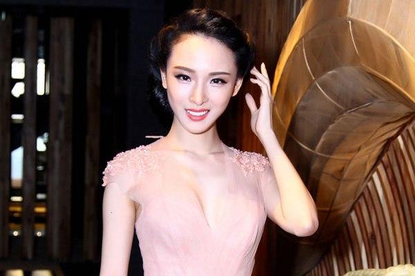 Hoa hậu Phương Nga lúc mới đăng quang. Ảnh: Internet