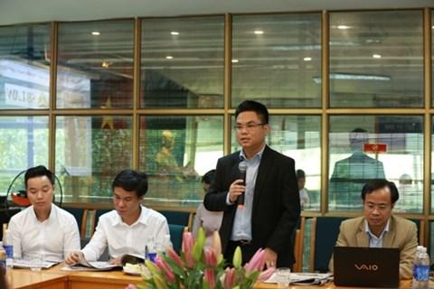 Luật sư Nguyễn Thanh Hà đóng góp ý kiến