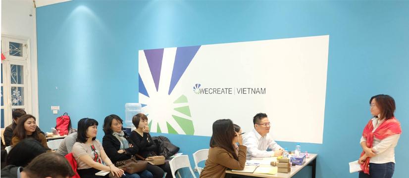 Luật sư Nguyễn Thanh Hà tư vấn cho We create Vietnam