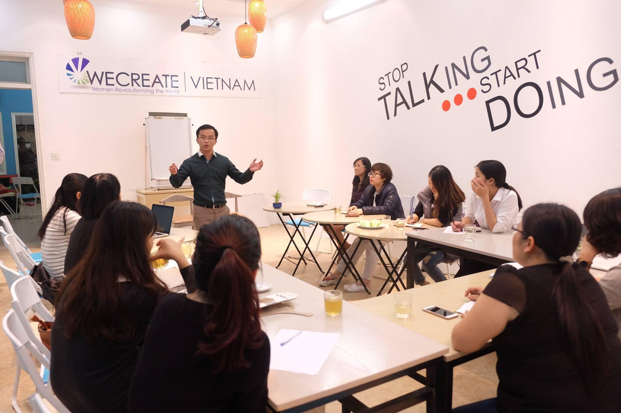 Luật sư Trần Trung Kiên tư vấn cho các start up
