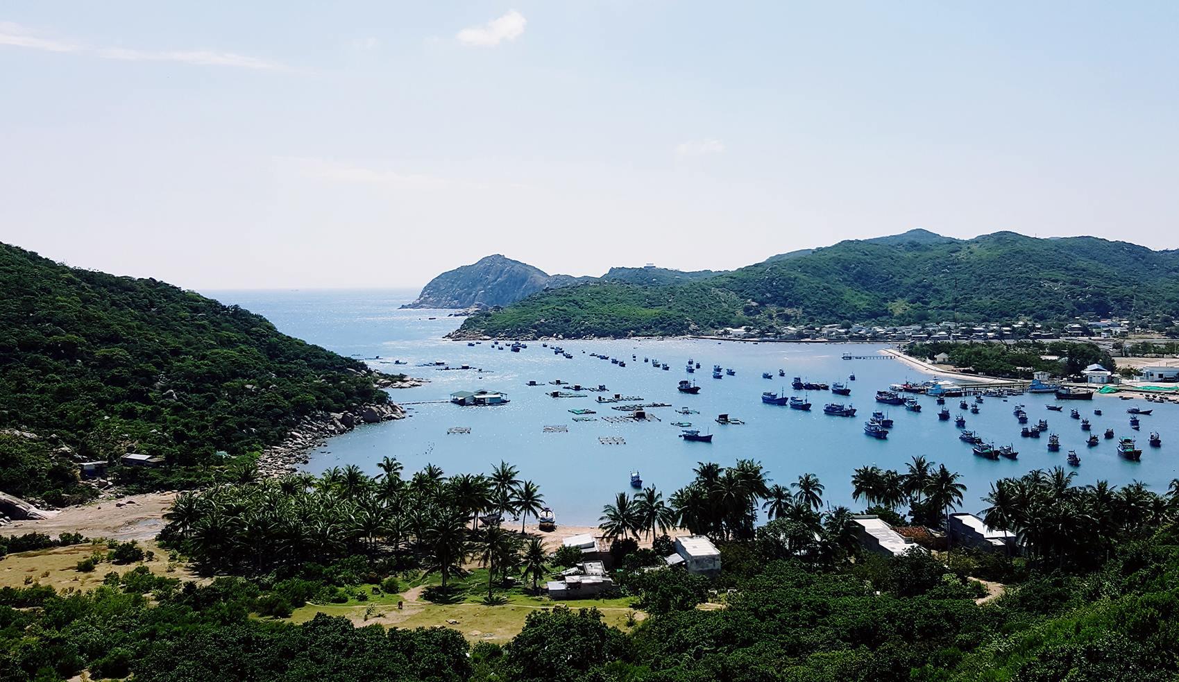 Dự án phát triển các hoạt động thể thao nước tại vịnh Vĩnh Hy, Ninh Thuận.