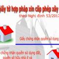 CÁC LOẠI GIẤY TỜ ĐẤT ĐAI HỢP PHÁP ĐỂ ĐƯỢC CẤP GIẤY PHÉP XÂY DỰNG-sblaw