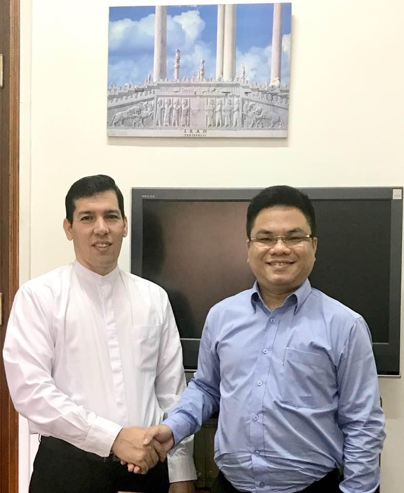 SBLAW hợp tác cùng Đại sứ quán Iran tại Việt Nam