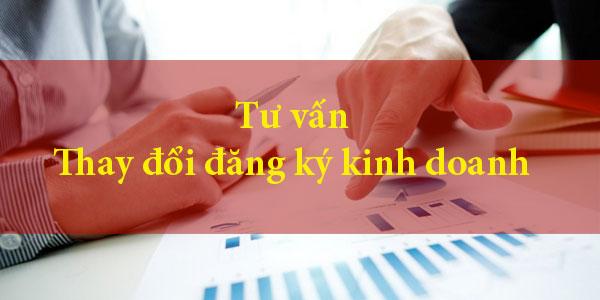 Tư vấn thay đổi đăng ký kinh doanh do chuyển nhượng cổ phần