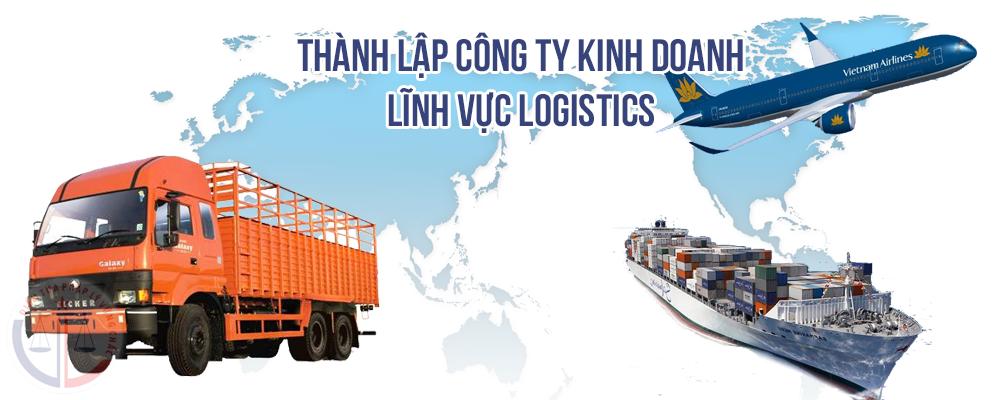 Thành lập công ty trong lĩnh vực logistic tại Việt Nam