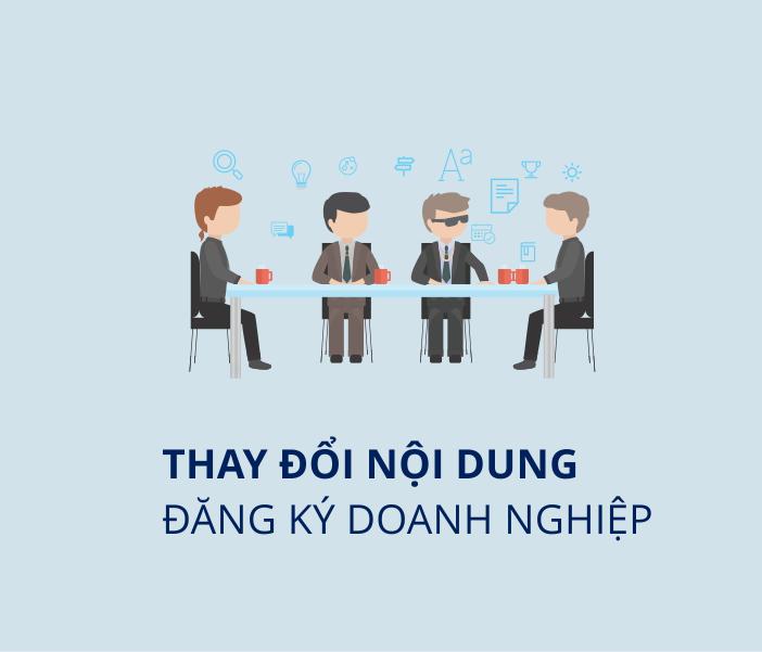 Thủ tục thay đổi đăng ký doanh nghiệp
