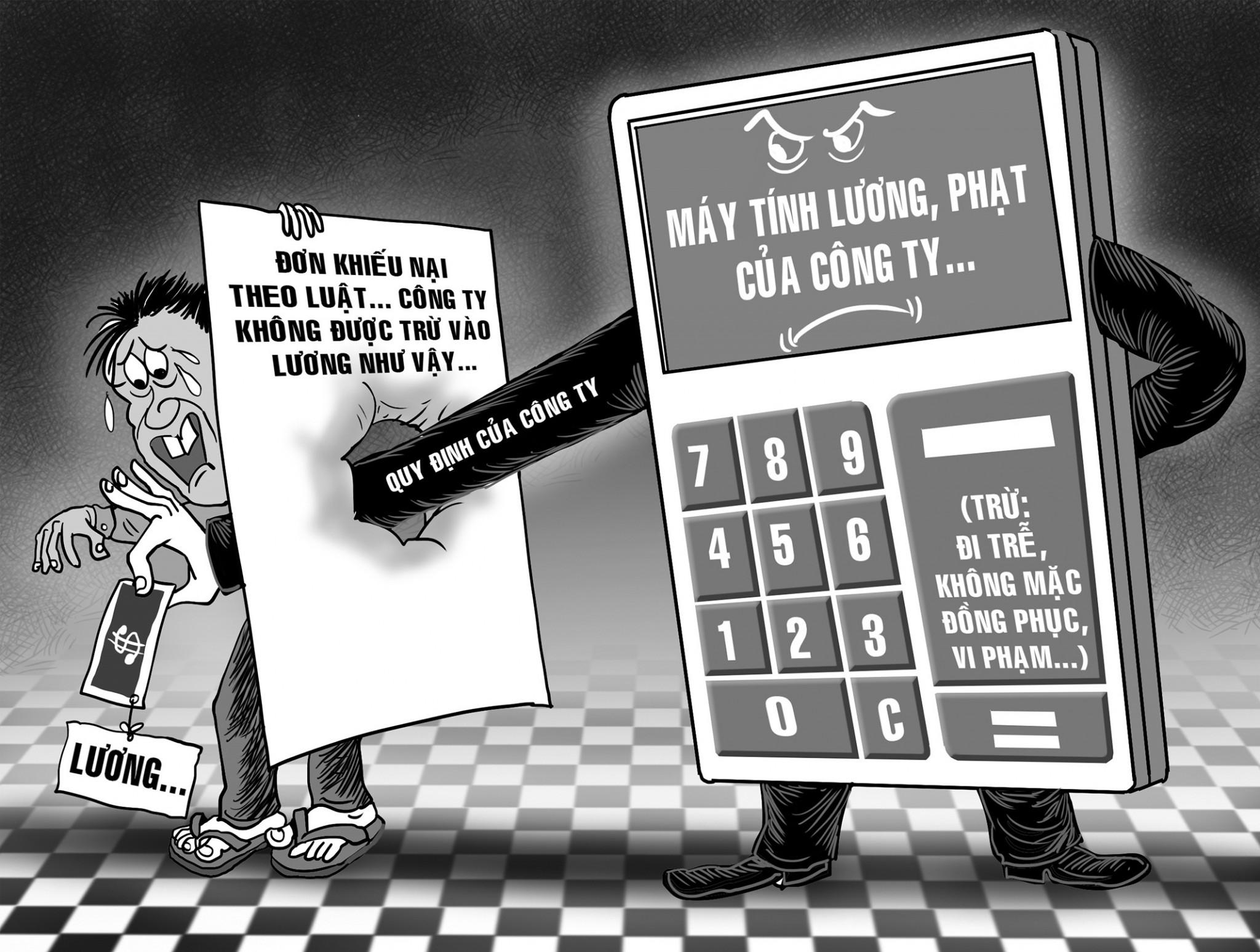 Khi bị người sử dụng lao động chèn ép, trừ lương, phải xử lý như thế nào?