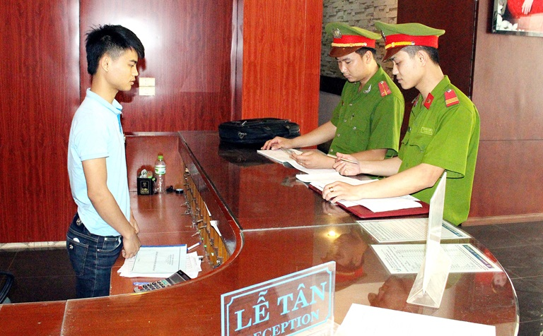 Kiểm tra giấy phép kinh doanh có thuộc thẩm quyền của công an xã, phường?