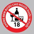 Cấm bán rượu cho người dưới 18 tuổi, được không-sblaw