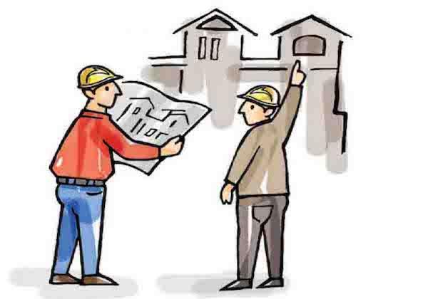 Làm gì khi xây nhà vượt quá diện tích đất thổ cư?
