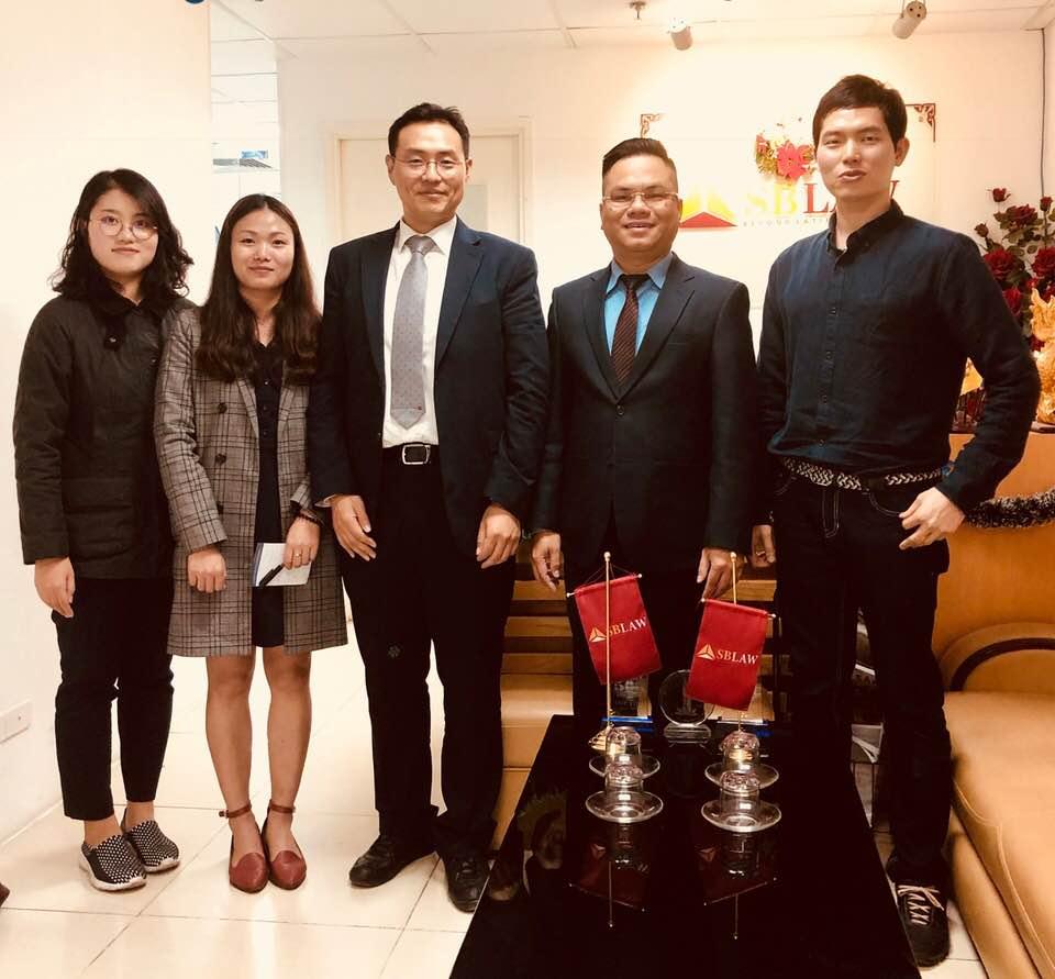 SBLAW hợp tác với hãng luật LAW WIN từ Hàn Quốc