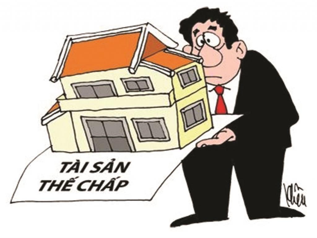 Có được mua nhà thế chấp sổ đỏ cho ngân hàng?