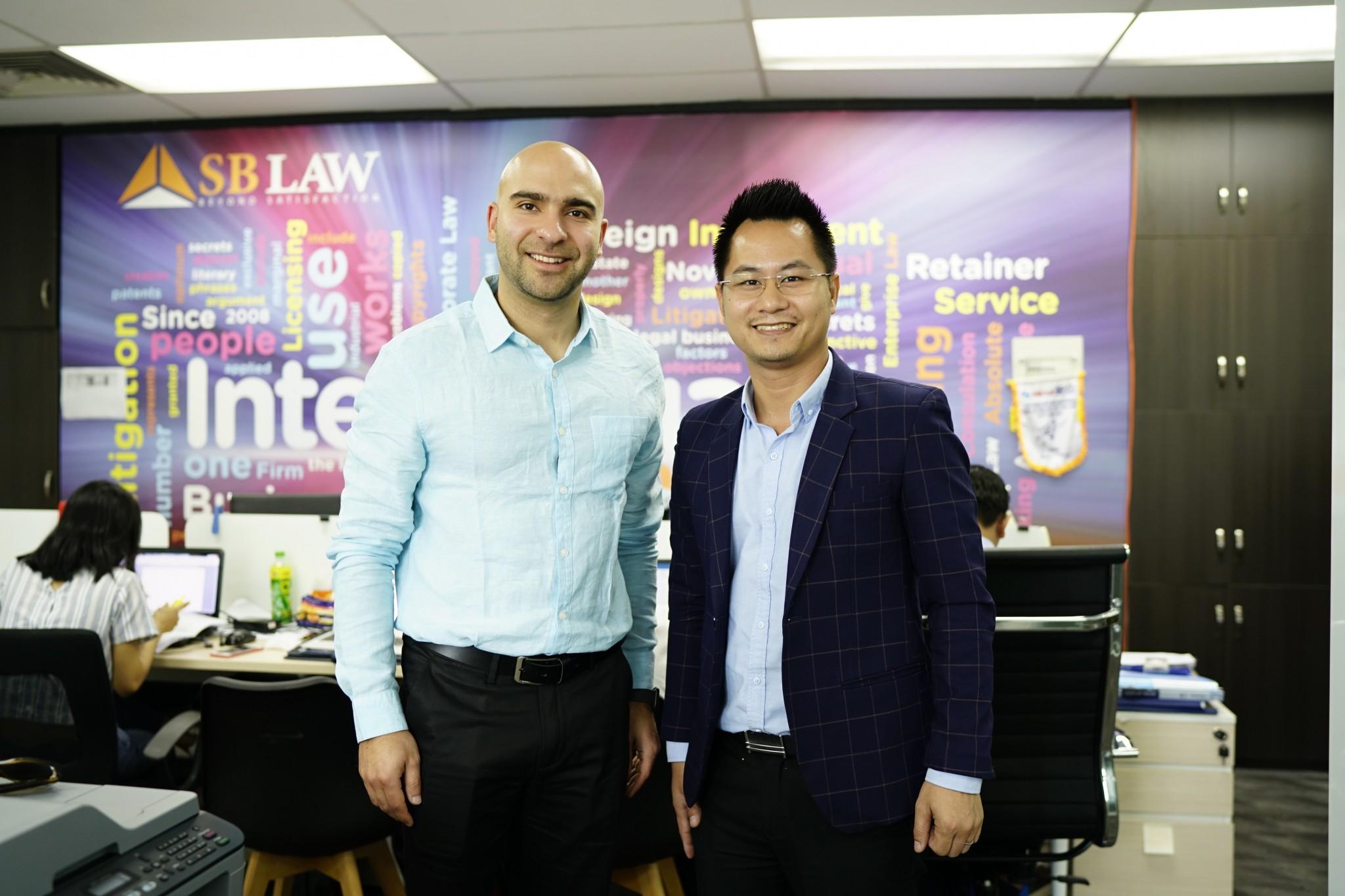 SBLAW hợp tác với luật sư Hoa Kỳ về lĩnh vực sở hữu trí tuệ