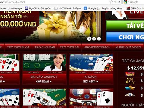 Giải pháp ngăn chặn game cờ bạc online