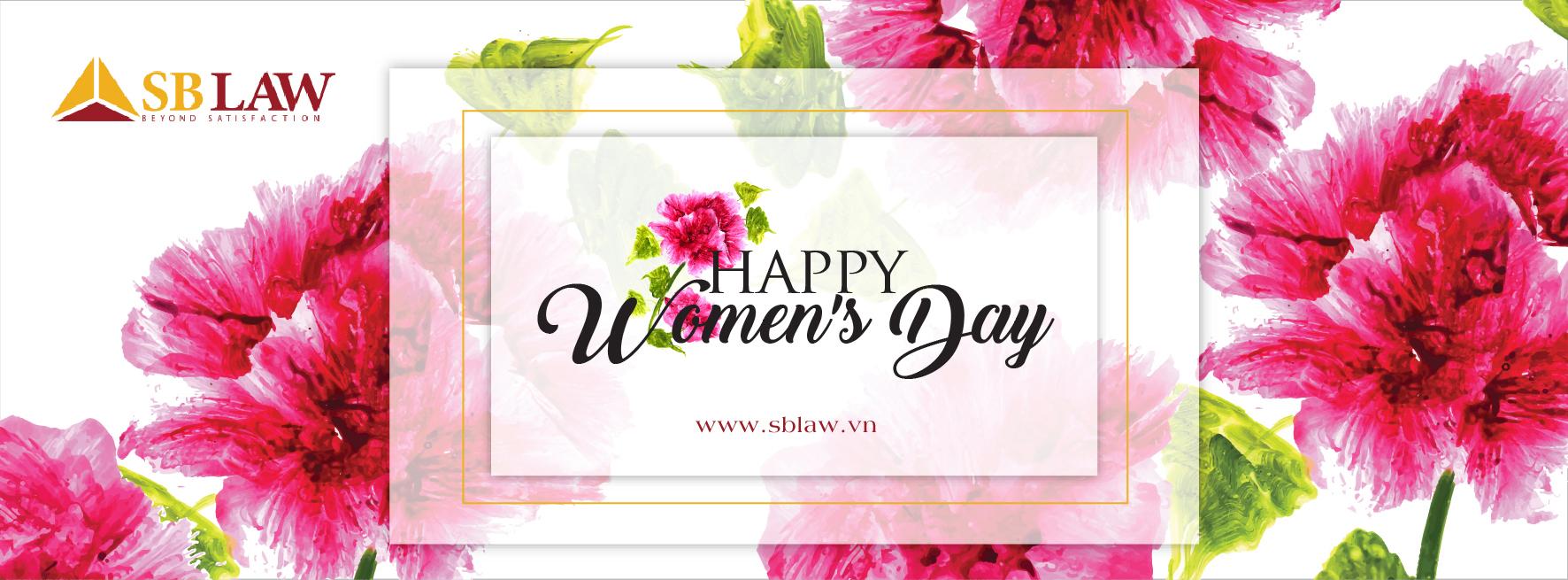 Chúc mừng các luật sư SBLAW ngày Quốc tế phụ nữ