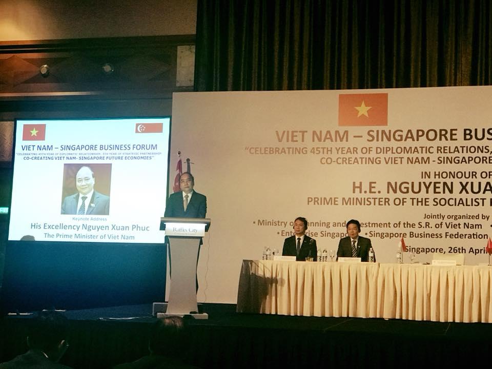 Luật sư SBLAW tham dự diễn đàn kinh tế Việt Nam – Singapore