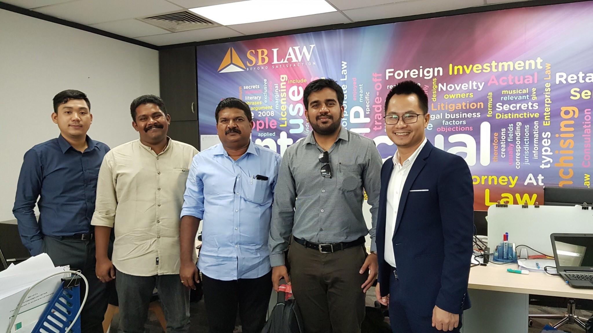SBLAW tư vấn cho doanh nhân tới từ Ấn Độ