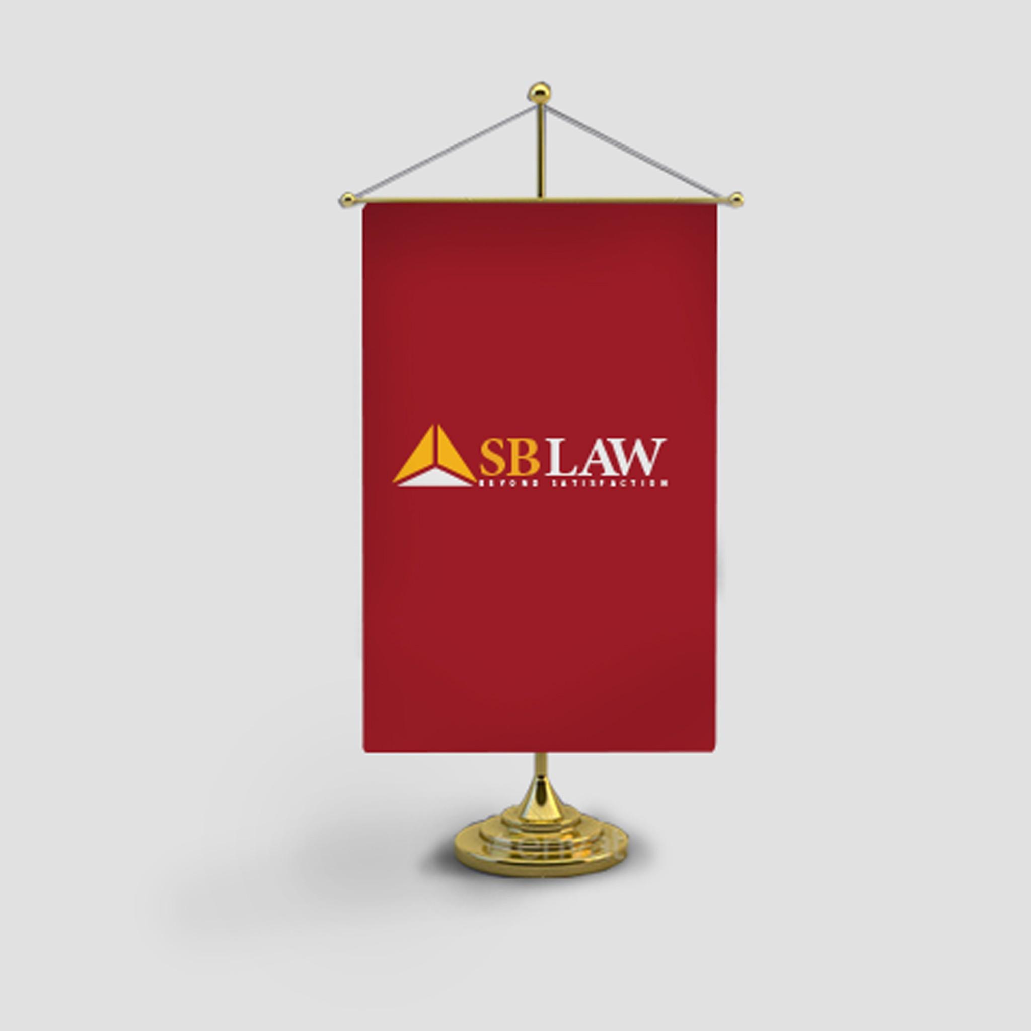 Bộ nhận diện thương hiệu công ty luật SBLAW