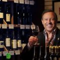 Master sommelier Peter Neptune holds a glass of wine at Laguna Culinary Arts, where he teaches wine education classes. The Neptune School of Wine teaches in accordance with Wine and Spirit Education Trust courses.     >>>>ADDITIONAL INFORMATION: slug:  libations.0626eg 6/18/13 Photo by Eugene Garcia, Orange County Register