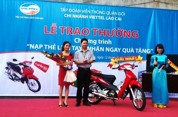 Có phải nộp thuế khi được trúng thưởng xe máy?