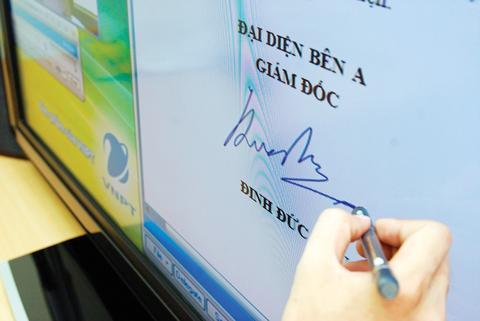 Chữ ký điện tử là gì?