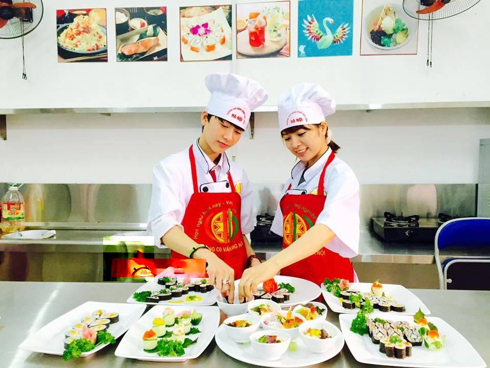 Tư vấn thành lập trung tâm dạy nghề nấu ăn