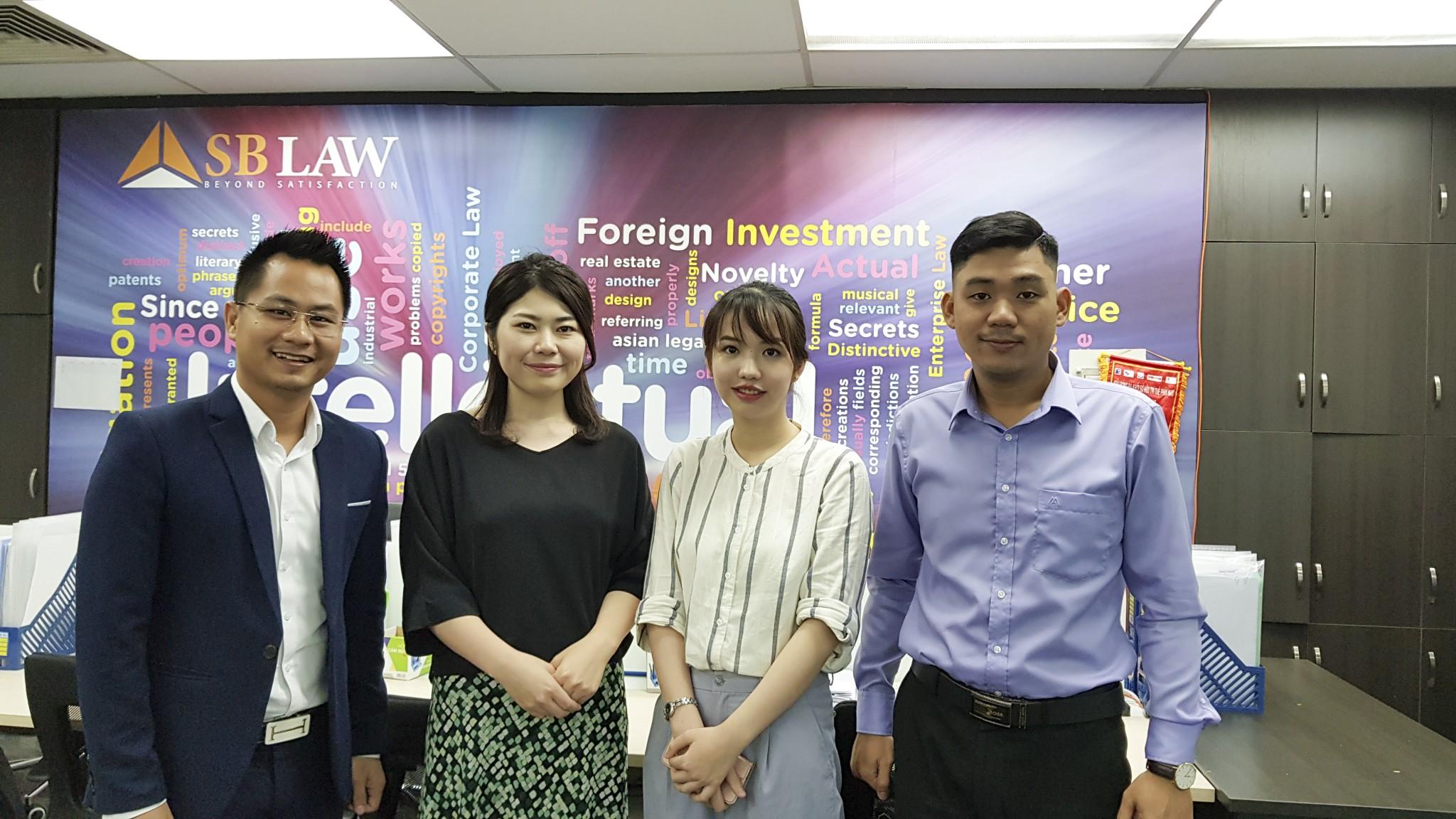 Luật sư SBLAW làm việc với công ty luật Meilin về M&A