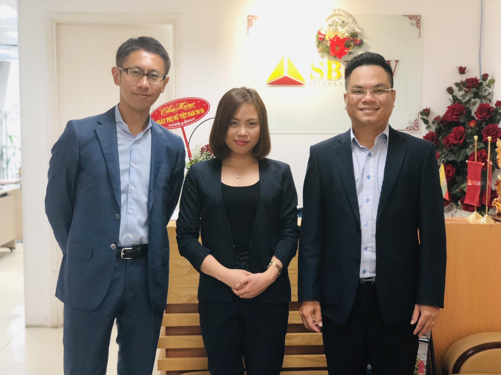 SBLAW hợp tác với hãng luật Alg & Asociates Nhật Bản