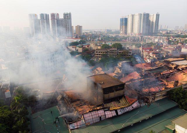 Rạng Đông phải bồi thường thiệt hại cho người dân sau vụ cháy