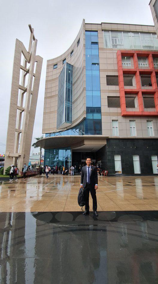 Luật sư SBLAW đào tạo về cách làm báo cáo pháp lý cho sinh viên