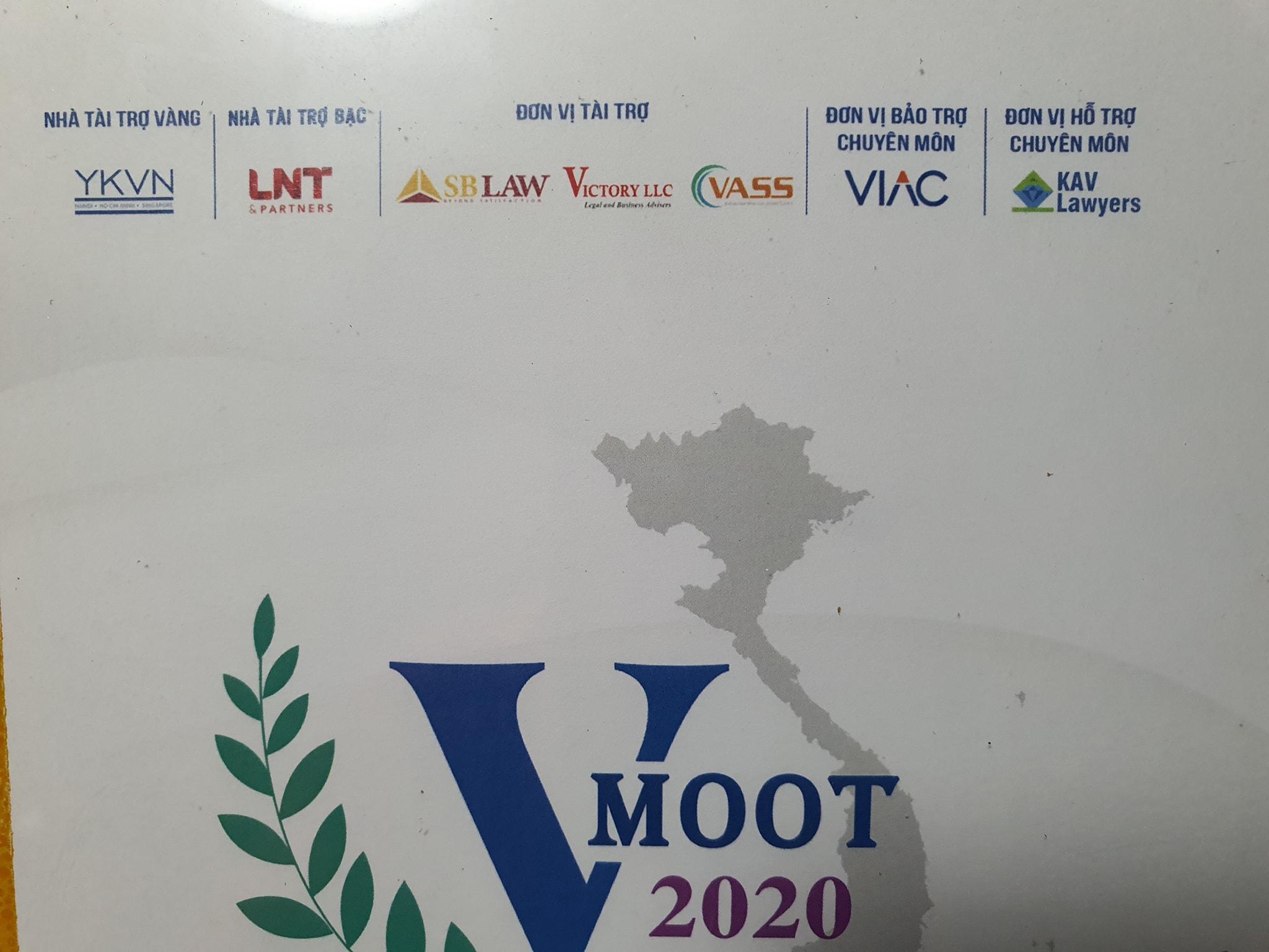 Luật sư SBLAW là giám khảo PHIÊN TÒA GIẢ ĐỊNH VMoot 2020