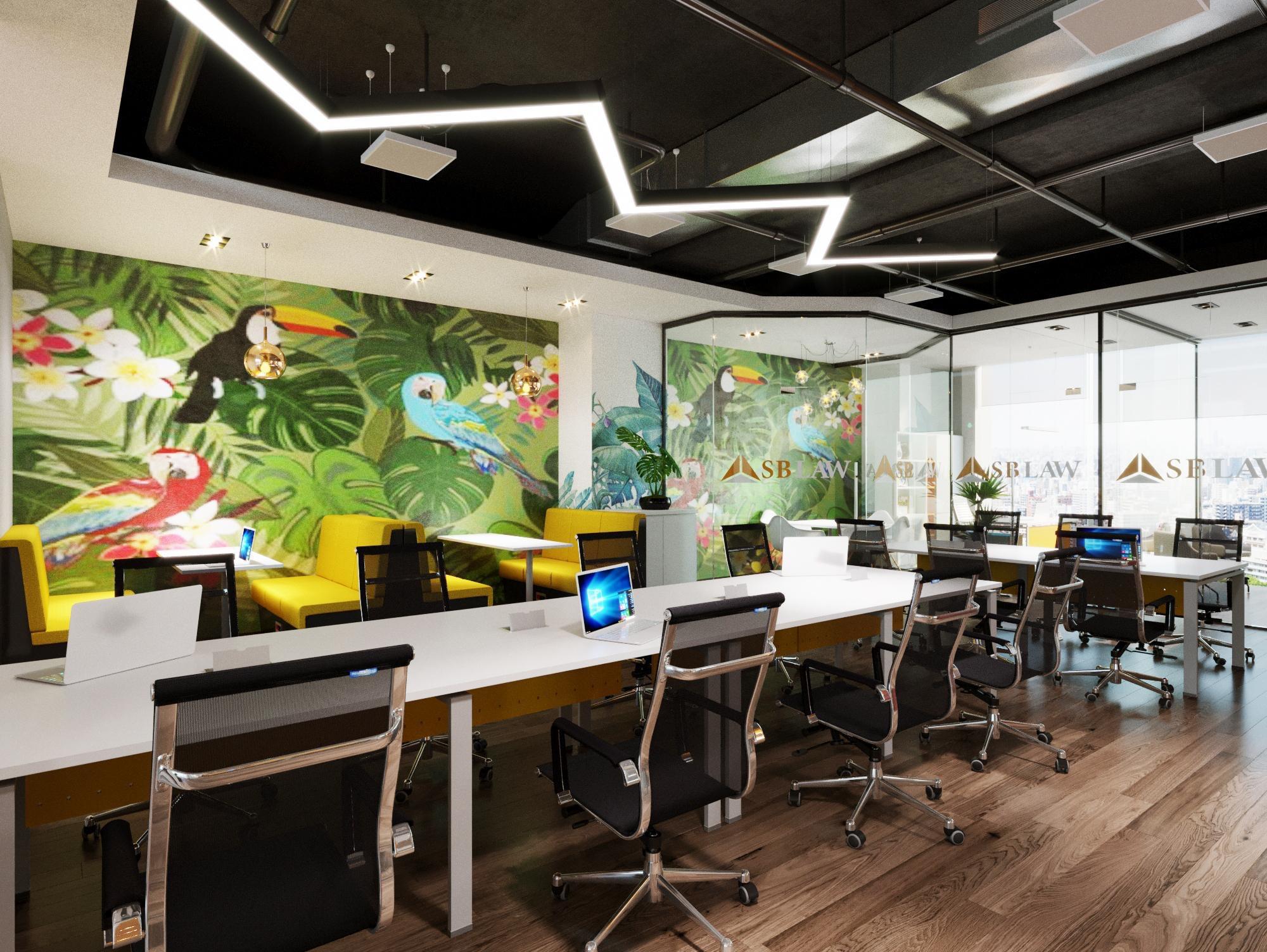 Hình ảnh văn phòng mới của công ty luật SBLAW
