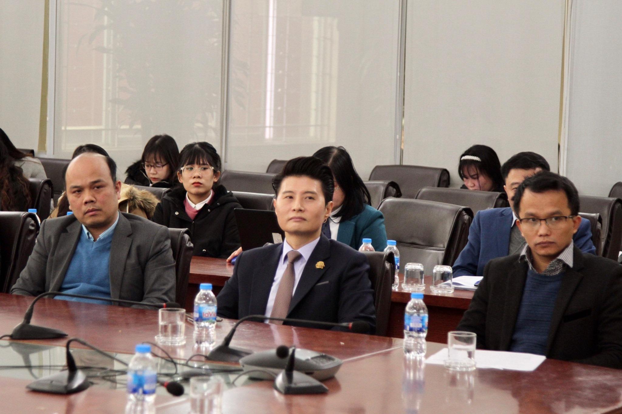 Luật sư Trần Trung Kiên tham dự Lễ khai giảng khóa đào tạo luật sư hội nhập quốc tế tại Học Viện Tư Pháp.