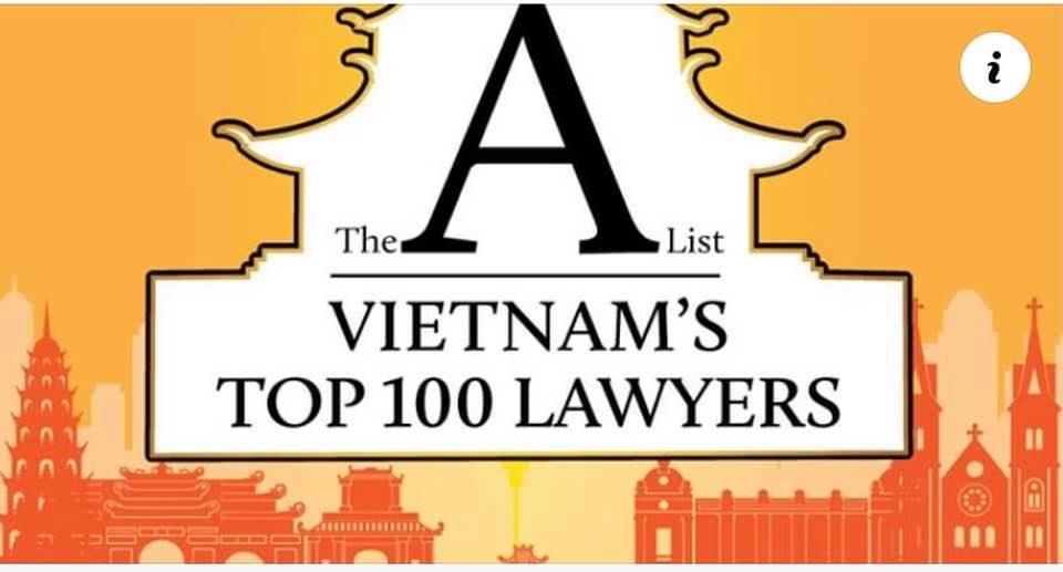 Luật sư Nguyễn Thanh Hà từ SBLAW trong danh sách Top 100 luật sư Việt Nam