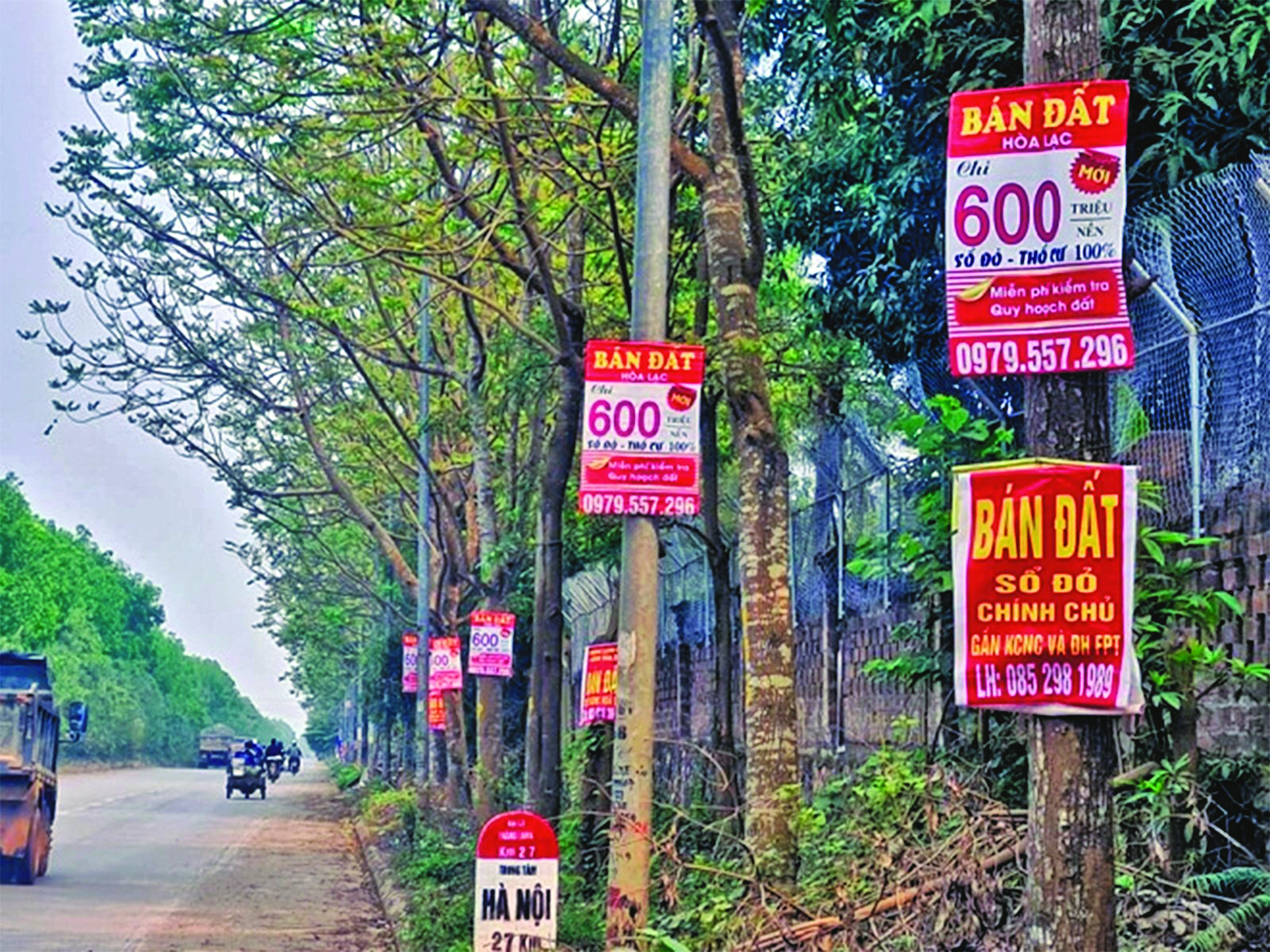 KIỂM SOÁT CƠN SỐT ĐẤT: Quản lý nghiêm hoạt động môi giới bất động sản